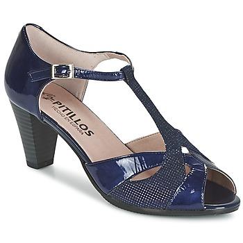 Sapatos Mulher Sandálias Pitillos MARILOU Marinho