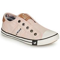 Sapatos Rapariga Sapatilhas Mustang SHAYAN Rosa