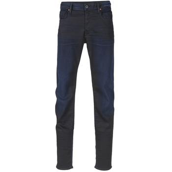Textil Homem Calças de ganga slim G-Star Raw 3301 SLIM Escuro / Super / STRETCH / Ganga