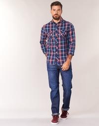 Textil Homem Calças Jeans G-Star Raw 3301 STRAIGHT Ganga