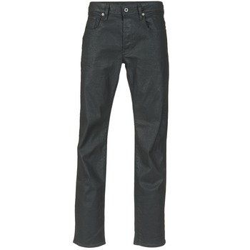Textil Homem Calças Jeans G-Star Raw 3301 STRAIGHT Preto