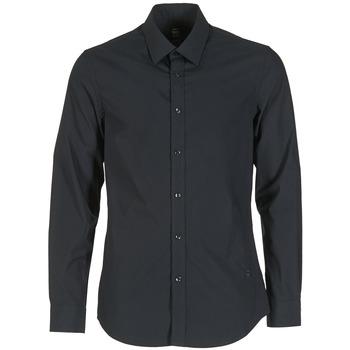 Textil Homem Camisas mangas comprida G-Star Raw CORE Preto