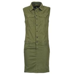 Textil Mulher Vestidos curtos G-Star Raw ROVIC SLIM DRESS WMN S/LESS Cáqui