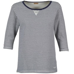 Textil Mulher Sweats Napapijri BOISSERON Marinho / Branco