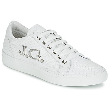 Sapatos Mulher Sapatilhas John Galliano 7977 Branco