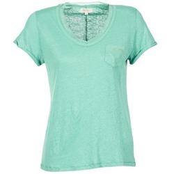 Textil Mulher T-Shirt mangas curtas Miss Sixty FIONA Verde