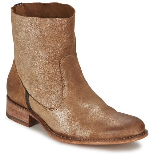 Sapatos Mulher Botas baixas n.d.c. SANDRINE SOFTY BRILLO Dourado