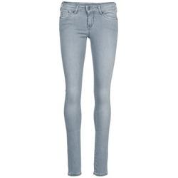 Textil Mulher Calças de ganga slim Pepe jeans PIXIE Cinza