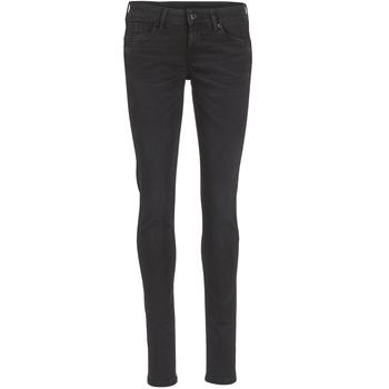 Textil Mulher Calças de ganga slim Pepe jeans SOHO Preto