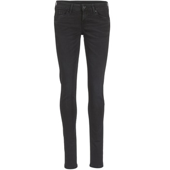 Textil Mulher Gangas Skinny Pepe jeans SOHO Preto