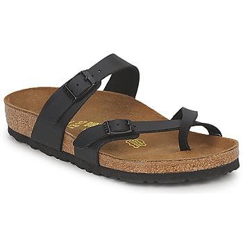Sapatos Mulher Chinelos Birkenstock MAYARI Preto