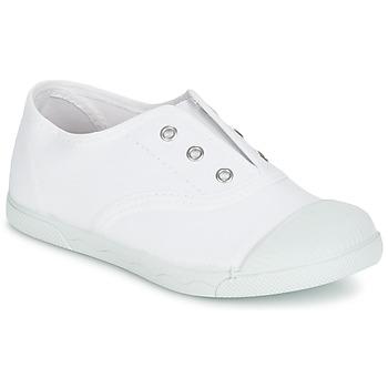 Sapatos Rapariga Sapatilhas Citrouille et Compagnie RIVIALELLE Branco