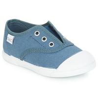 Sapatos Criança Sapatilhas Citrouille et Compagnie RIVIALELLE Azul / Ganga