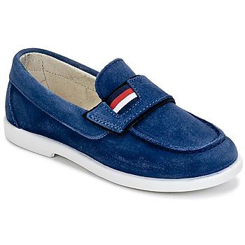 Sapatos Rapaz Mocassins Citrouille et Compagnie LILMOUSSE Azul / Marinho