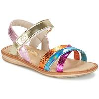 Sapatos Rapariga Sandálias Citrouille et Compagnie MINIRAVI Multicolor