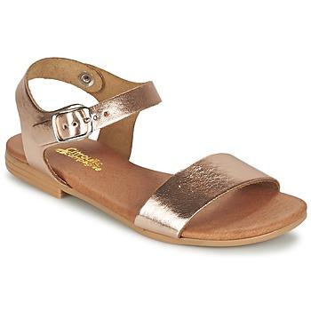 Sapatos Rapariga Sandálias Citrouille et Compagnie JOUBI Cobre