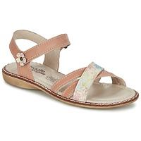 Sapatos Rapariga Sandálias Citrouille et Compagnie JANDOLI Cru