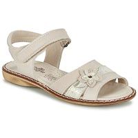 Sapatos Rapariga Sandálias Citrouille et Compagnie ANDALIA Bege