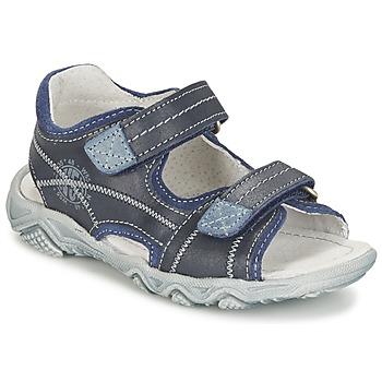 Sapatos Rapaz Sandálias Citrouille et Compagnie RAMTIGA Azul