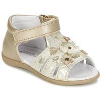 Sapatos Rapariga Sandálias Citrouille et Compagnie PAQUETI Bege