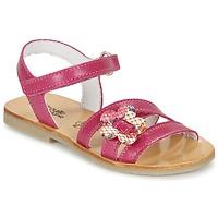 Sapatos Rapariga Sandálias Citrouille et Compagnie CHOUPINETTE Rosa fúchia
