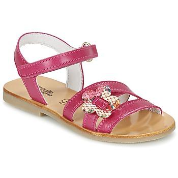 Sapatos Rapariga Sandálias Citrouille et Compagnie CHOUPINETTE Fúchsia