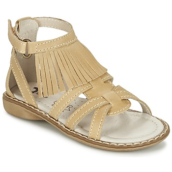 Sapatos Rapariga Sandálias Citrouille et Compagnie CONQUITA Bege