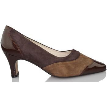 Sapatos de Salto Sana Pies SANAPIES CHAROL MOKA