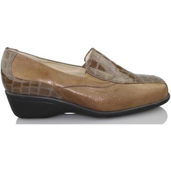 Sapatos Mulher Mocassins Sana Pies COMODOS CHAROL MARRON