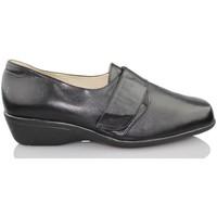 Sapatos Mulher Richelieu Sana Pies SANAPIES NAPA CERVINO NEGRO