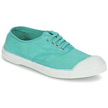 Sapatos Mulher Sapatilhas Bensimon TENNIS LACET Turquesa