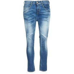 Textil Mulher Calças Jeans Meltin'pot LEIA Azul / Claro