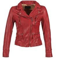 Textil Mulher Casacos de couro/imitação couro Oakwood 60861 Vermelho