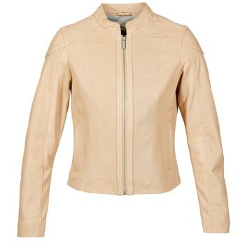 Textil Mulher Casacos de couro/imitação couro Oakwood 61848 Bege / Cru