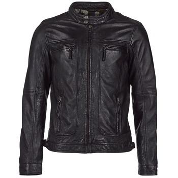 Textil Homem Casacos de couro/imitação couro Oakwood 60901 Preto