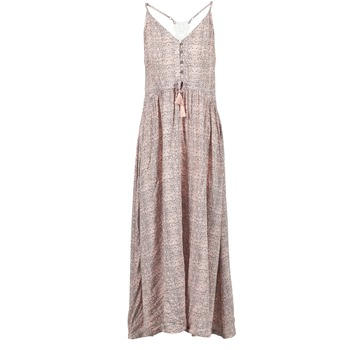 Textil Mulher Vestidos compridos Rip Curl SNAKE Rosa