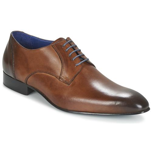Sapatos Homem Sapatos Carlington EMRONE Castanho