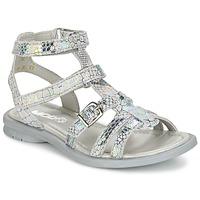 Sapatos Rapariga Sandálias Mod'8 JUJU Prateado