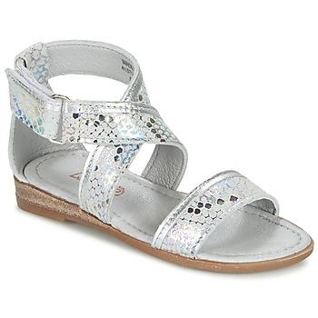 Sapatos Rapariga Sandálias Mod'8 JOYCE Prateado