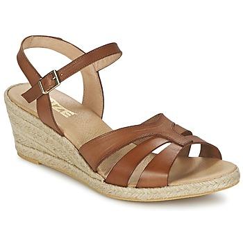 Sapatos Mulher Sandálias So Size ELIZA Castanho