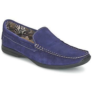 Sapatos Homem Mocassins So Size ELIJA Azul