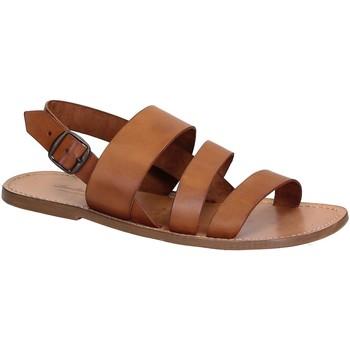 Sapatos Homem Sandálias Gianluca - L'artigiano Del Cuoio 507 U CUOIO CUOIO Cuoio