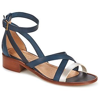 Sapatos Mulher Sandálias Casual Attitude COUTIL Azul