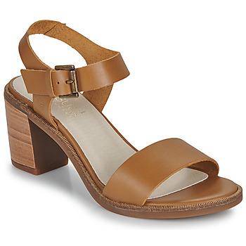 Sapatos Mulher Sandálias Casual Attitude CAILLE Camel