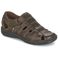 Sapatos Homem Sandálias Casual Attitude ZIRONDEL Castanho