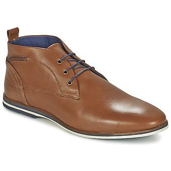 Sapatos Homem Botas baixas Casual Attitude MANXIO Castanho