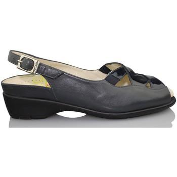 Sapatos Mulher Sandálias Drucker Calzapedic ZAPATO MUJER ORTOPEDICO AZUL