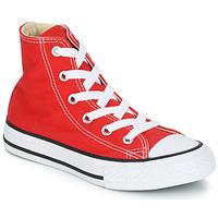Sapatos Criança Sapatilhas de cano-alto Converse CHUCK TAYLOR ALL STAR CORE HI Vermelho