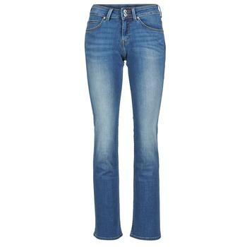 Textil Mulher Calças de ganga bootcut Lee JOLIET Azul