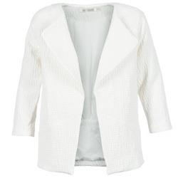 Textil Mulher Casacos See U Soon DACKA Branco